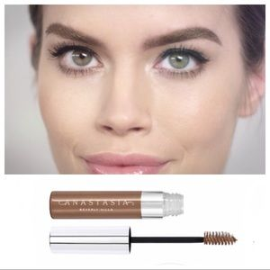 ANASTASIA eye brow gel brown brush filler brunette
